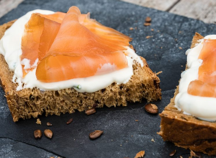 Smoked Salmon and Cream Cheese